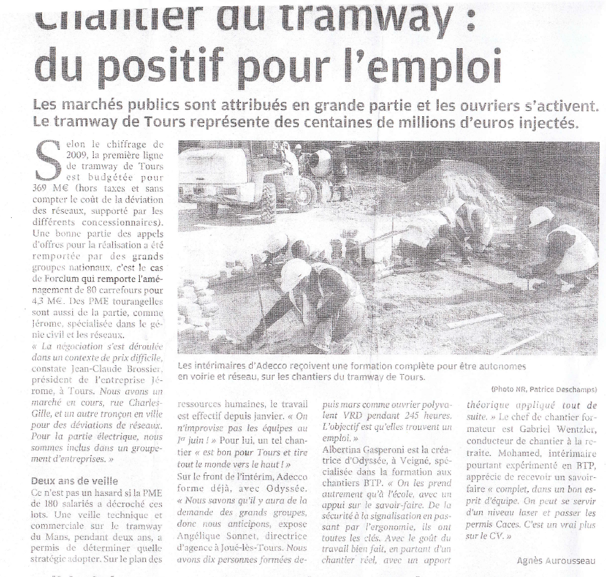 Article NR Odyssée Formation