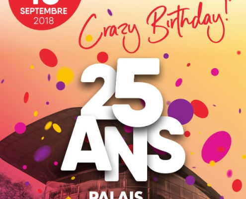 Crazy birthday du Vinci à Tours, le samedi 15 septembre 2018